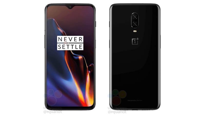oneplus 6t render winfuture OnePlus 6T