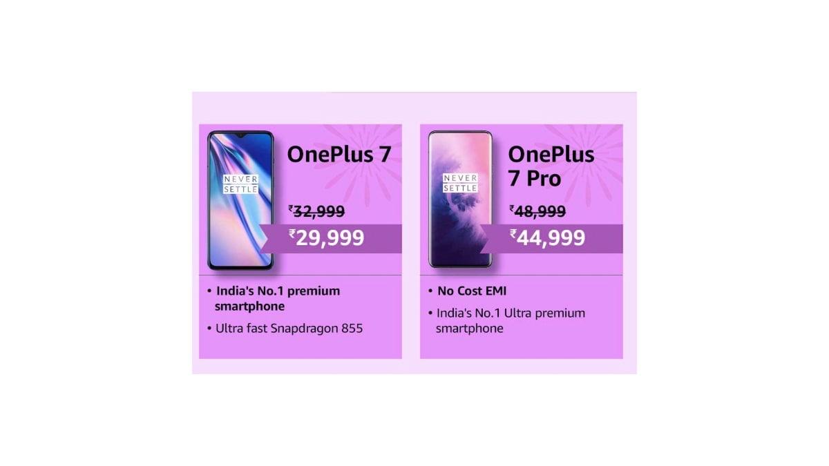 oneplus 7 7pro price cuts inside OnePlus