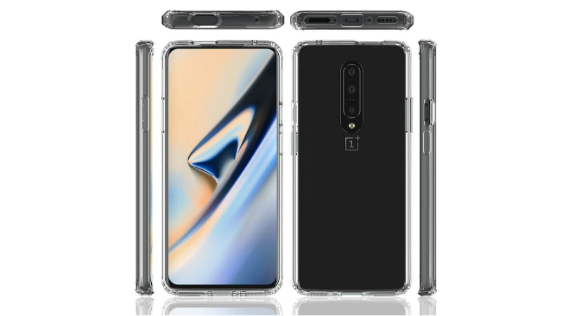 OnePlus 7 Case Renders Leak Suggests Vertically-Placed Triple Rear Camera Setup, SIM Card Tray at Bottom