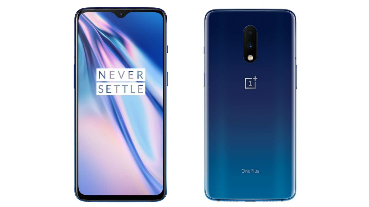 OnePlus 7 Mirror Blue Variant Now on Sale in India via
