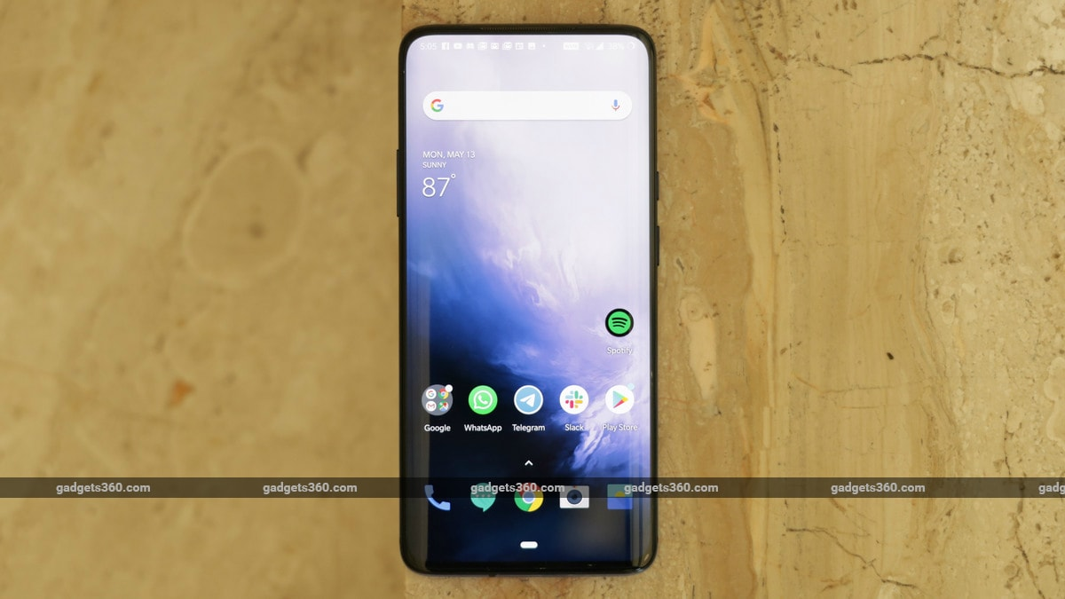 OnePlus 7 Pro With Up to 12GB of RAM, Triple Rear Camera Setup Launched: Price in India, Specifications