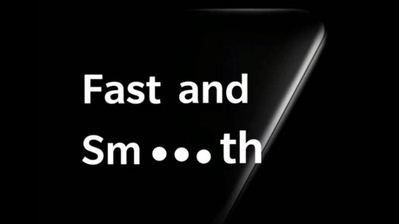 OnePlus 7 teased ahead of launch, CEO promises 'fast and smooth' experience