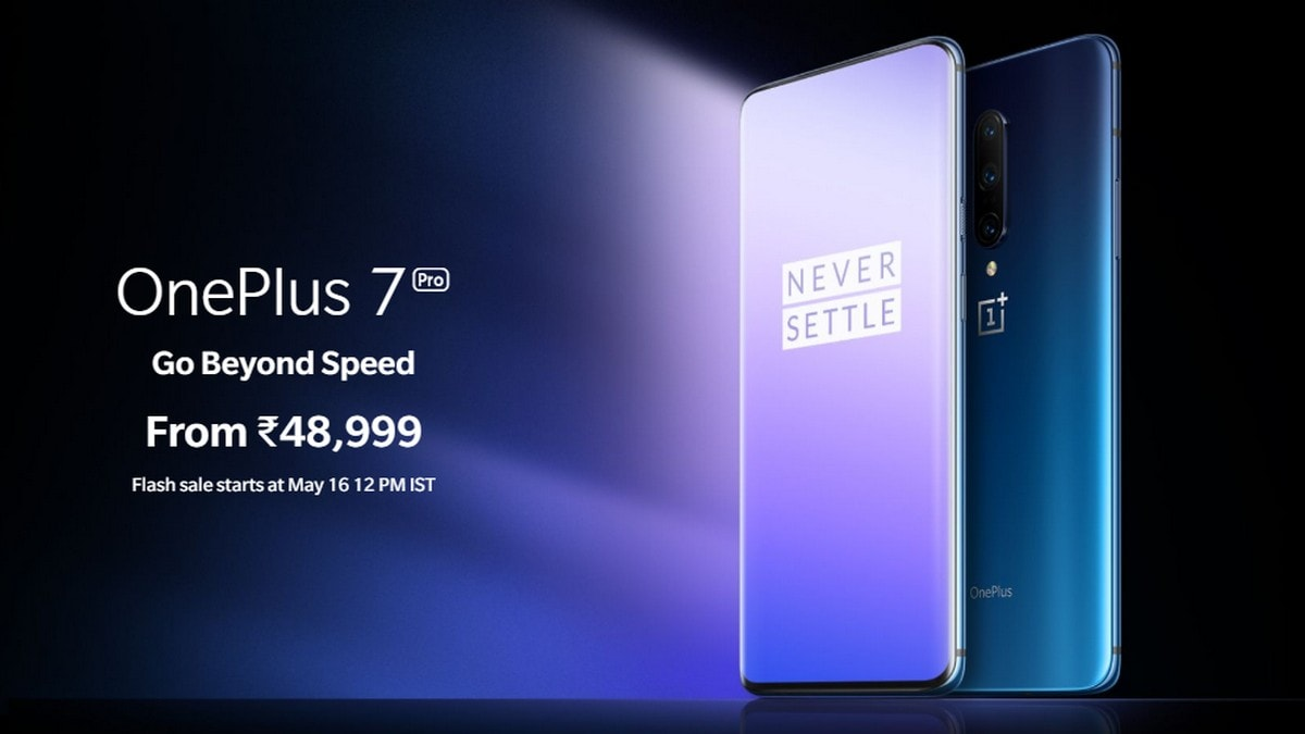 OnePlus 7 Pro to Go on Sale for First Time in India Today