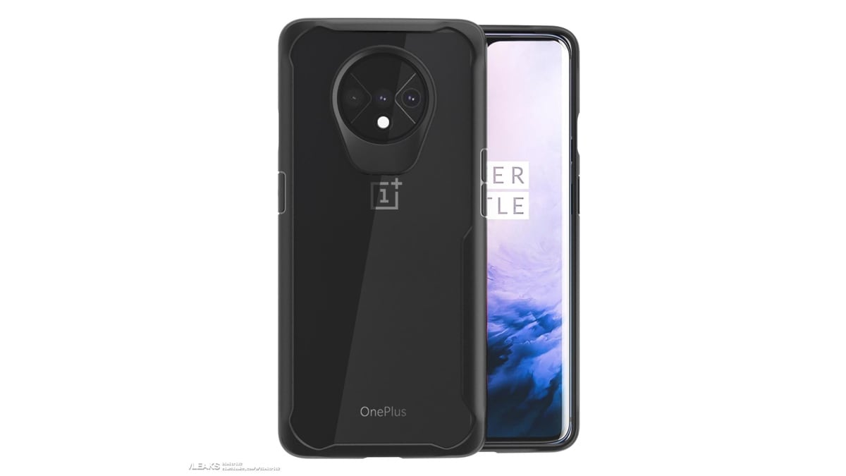 OnePlus 7T Protective Case Design Render Leaked, Showing