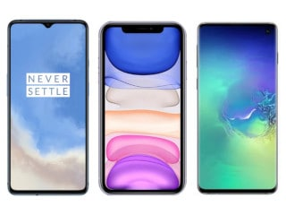 OnePlus 7T vs iPhone 11 vs Samsung Galaxy S10: Price in India, Specifications Compared