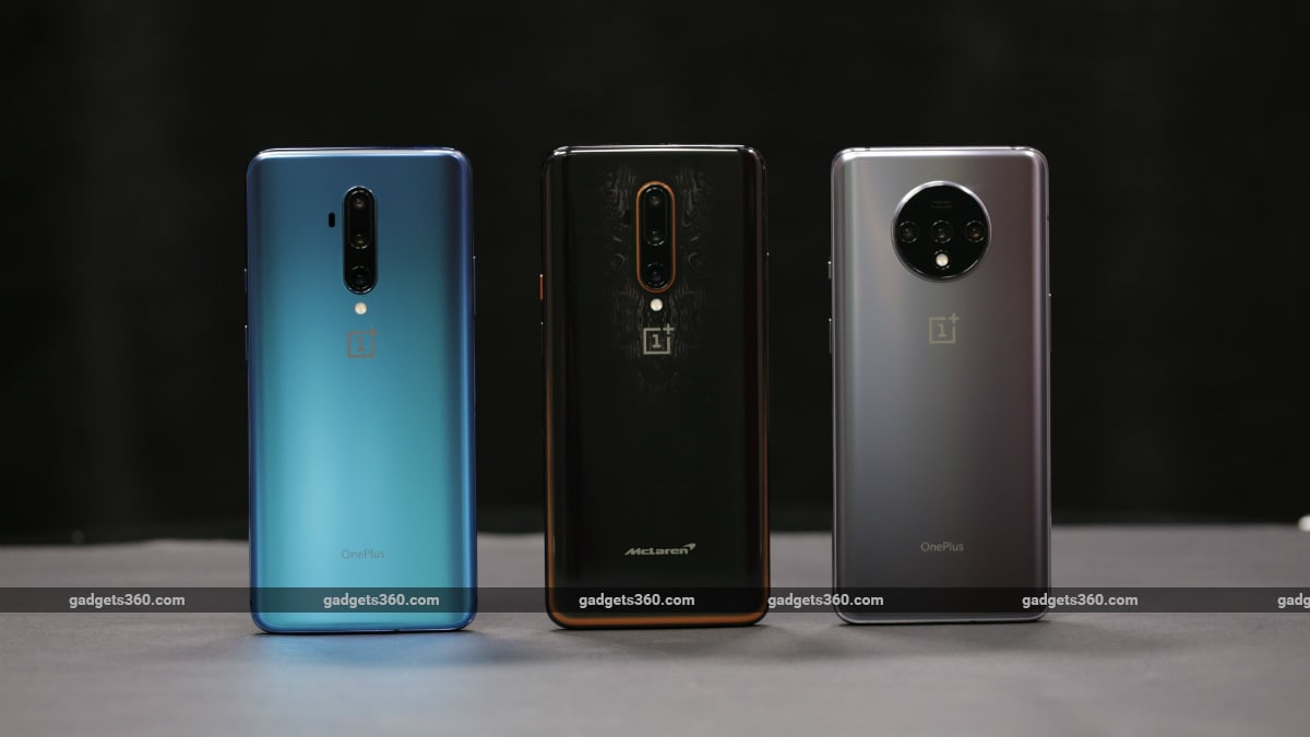 OnePlus 7T Pro vs OnePlus 7T Pro McLaren Edition vs OnePlus 7T: Price in India, Specifications Compared