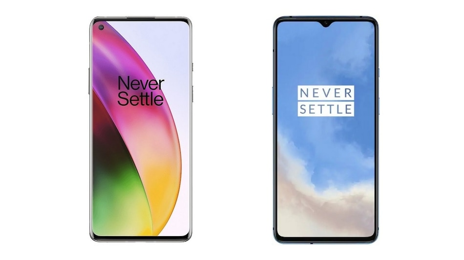 OnePlus 8 vs OnePlus 7T: Price in India, Specifications Compared