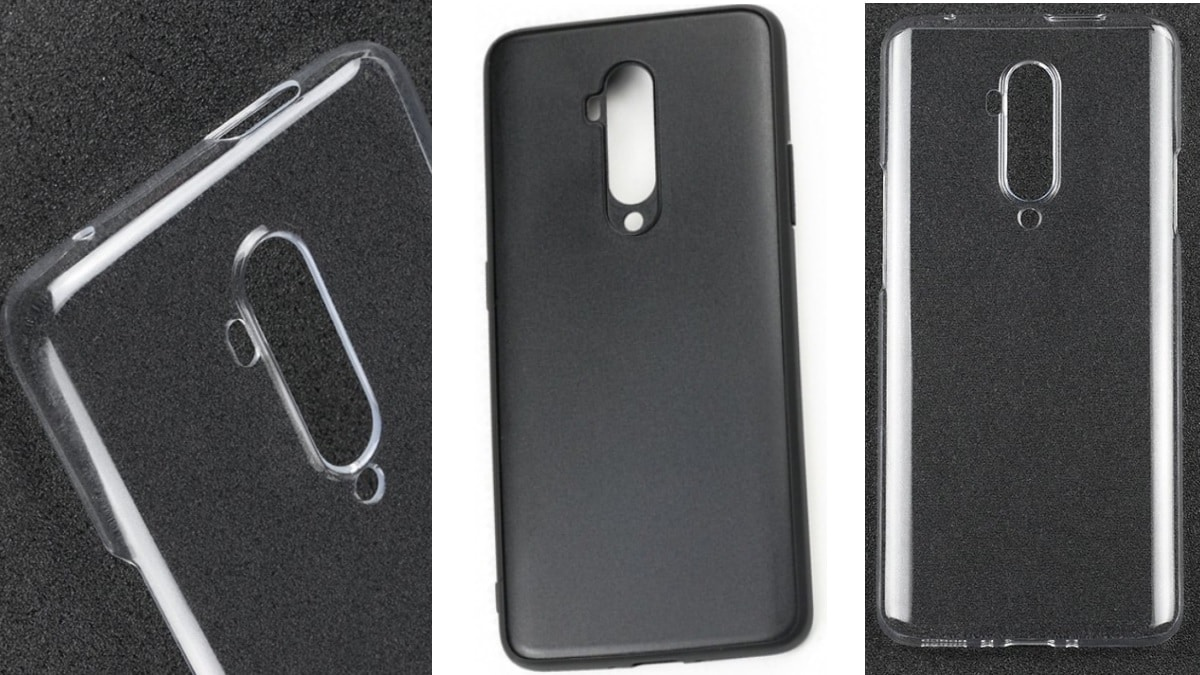 OnePlus 7T Pro Protective Case Images Tip Familiar Design With Vertical Camera Module, Pop-Up Selfie Camera