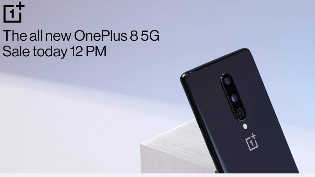 OnePlus 8 Special Limited Sale at 12pm Today: Price in India ...
