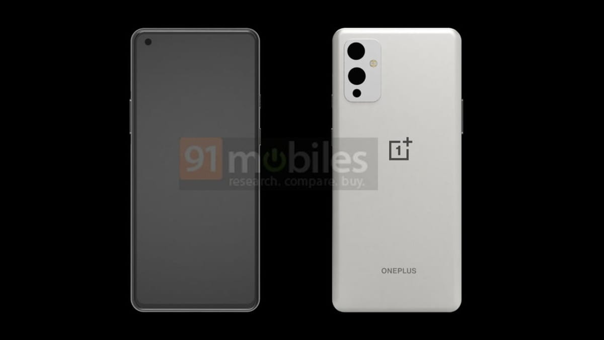 OnePlus 9 smartphone showed up in the first renders