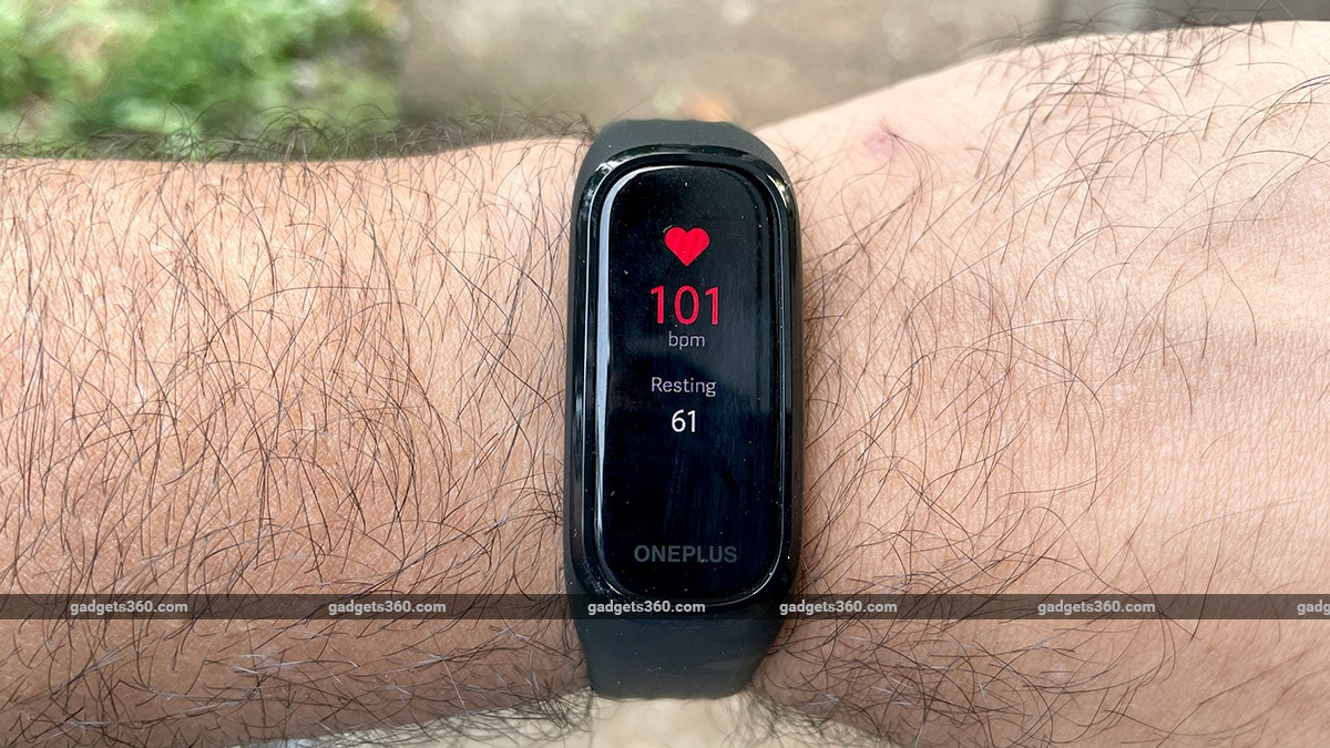 oneplus band heart rate gadgets360 OnePlus Band Review