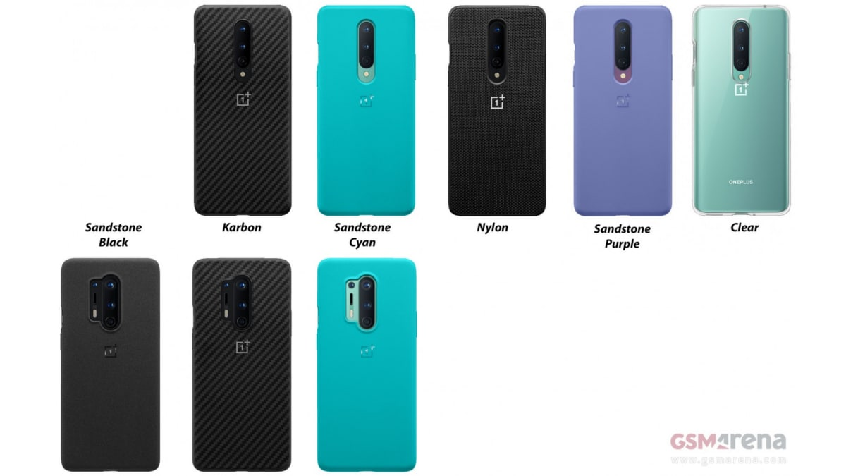 OnePlus 8 Series Case Leak Tips Sandstone and Nylon Options thumbnail