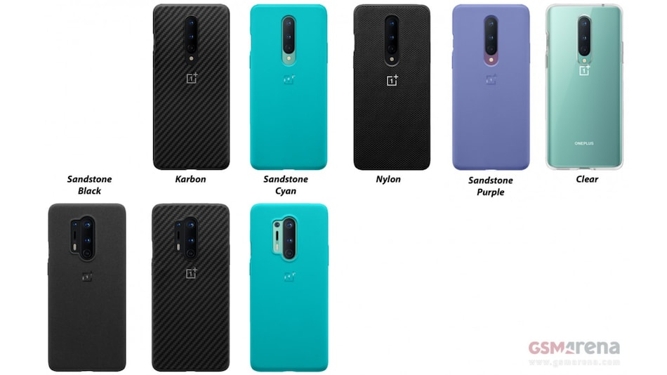 OnePlus 8 Series Leaked Case Renders Tip New Sandstone Case Colours and a Nylon Variant