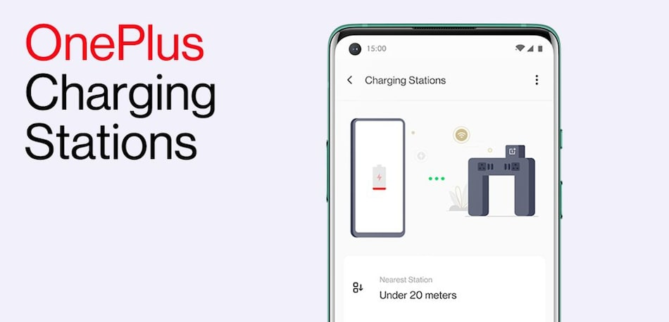 OnePlus Rolls Out Nearby Charging Station Feature, Installs Fast Charging Stations at Bengaluru Airport