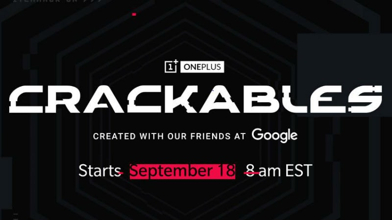 OnePlus 'Crackables' Contest Created With Google, Will Start on September 18