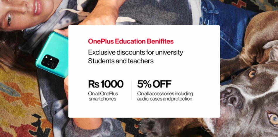 OnePlus Education Benefits Details Announced; Rs. 1,000 Off on Phones, TVs for Students, Teachers in India
