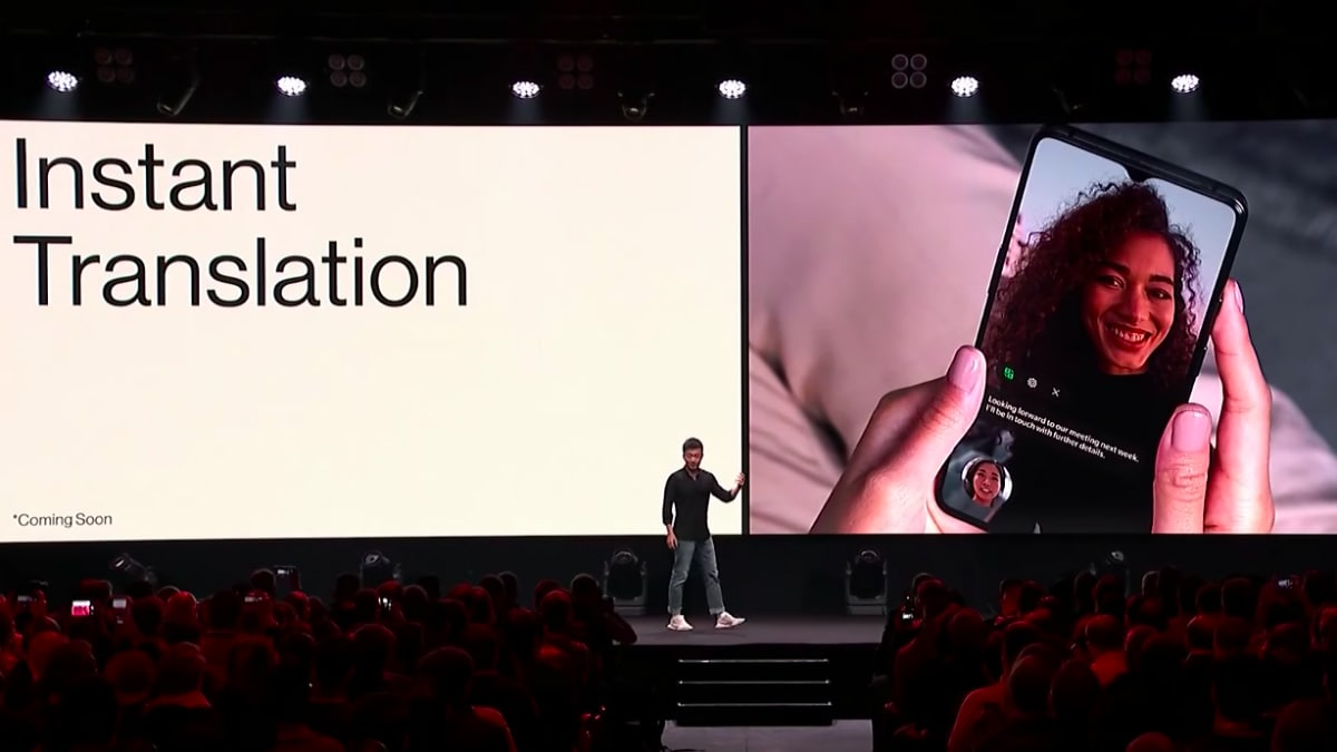oneplus instant translation on video calls feature OnePlus