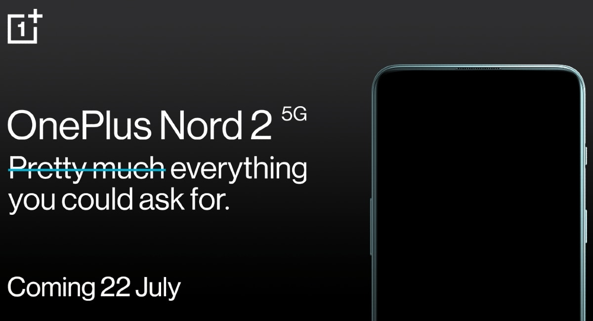 Oneplus Nord 2 5g India Launch Date Set For July 22 Amazon Reveals Technology News