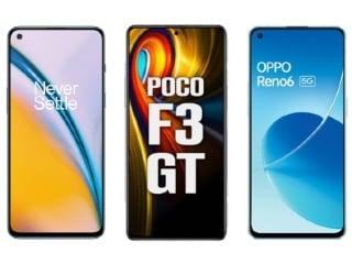 OnePlus Nord 2 vs Poco F3 GT vs Oppo Reno 6: Price in India, Specifications Compared
