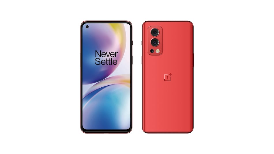 OnePlus Nord 2 Tipped to Come in a Red Colour Option Ahead of July 22 India Launch