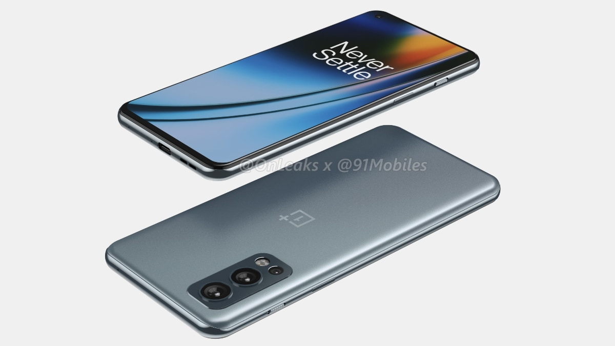 OnePlus Nord 2 Renders Surface, Triple Rear Camera Setup And Hole-Punch Display Tipped
