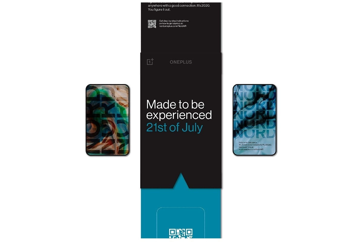 OnePlus Nord AR लॉन्च के टिकट की बिक्री शुरू, कीमत 99 रुपये
