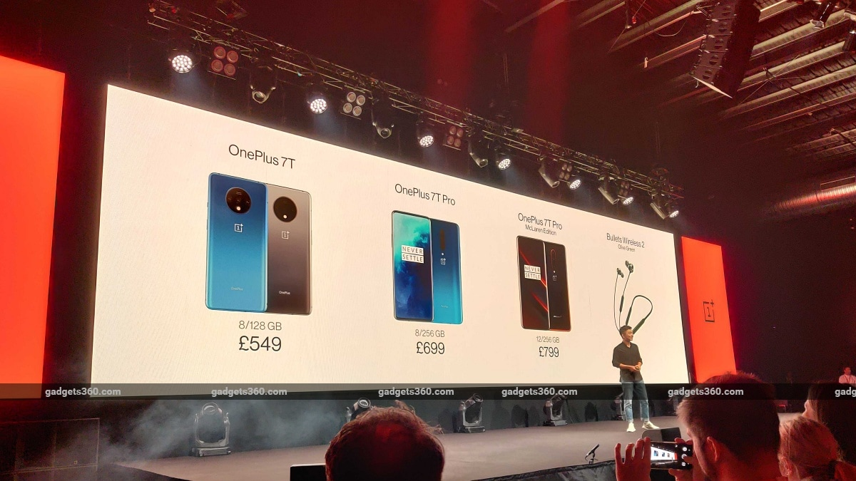 OnePlus 7T Pro Price in India Set at Rs. 53,999, McLaren Edition to Retail at Rs. 58,999: Event Highlights