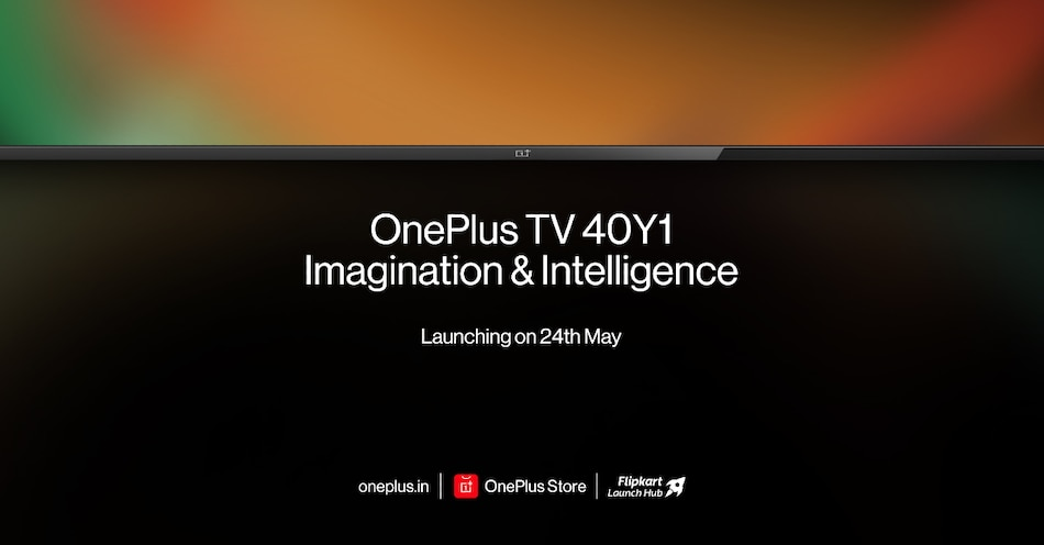 OnePlus TV 40Y1 India Launch Set for May 24, Specifications Teased
