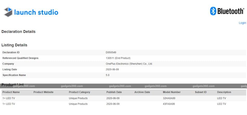 OnePlus TV के 32 इंच और 43 इंच मॉडल 2 जुलाई को हो सकते हैं लॉन्च