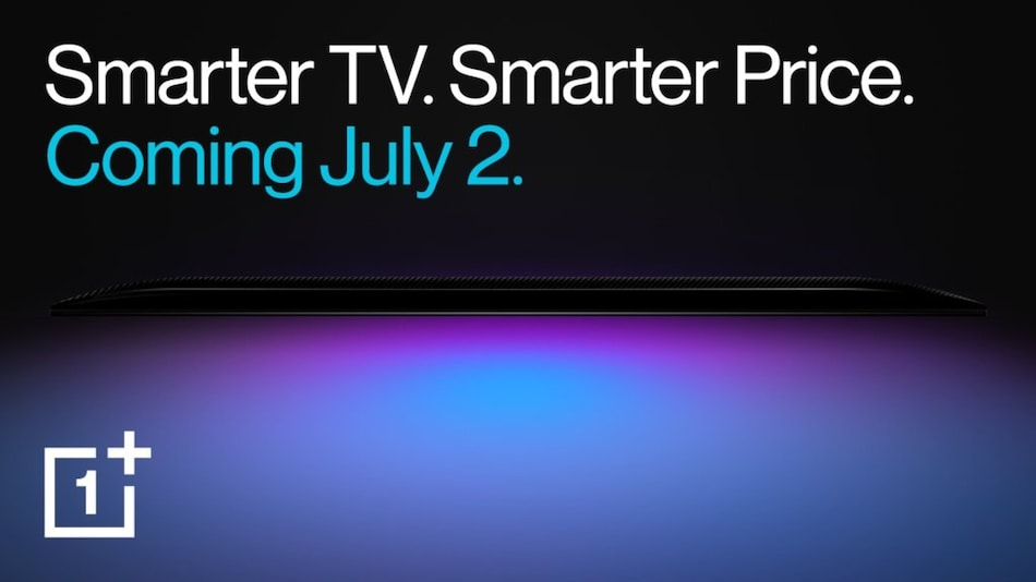 OnePlus to Launch Two New Smart TV Series in India on July 2, Set to Offer Different Screen Sizes