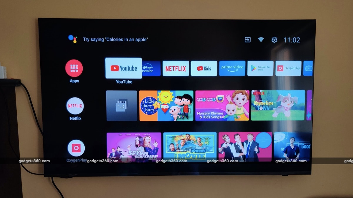 oneplus tv u series 55u1 review android tv OnePlus  OnePlus TV
