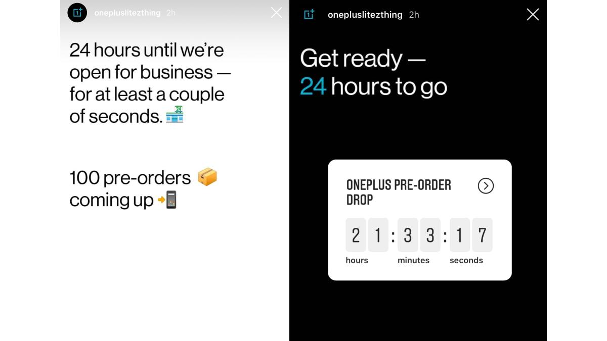 OnePlus Z aka OnePlus Lite Pre-Orders Teased by Company Ahead of Reveal