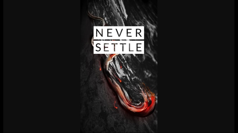 OnePlus Wallpaper Leak Gets the Web Talking; OnePlus 3T Black Variant Tipped