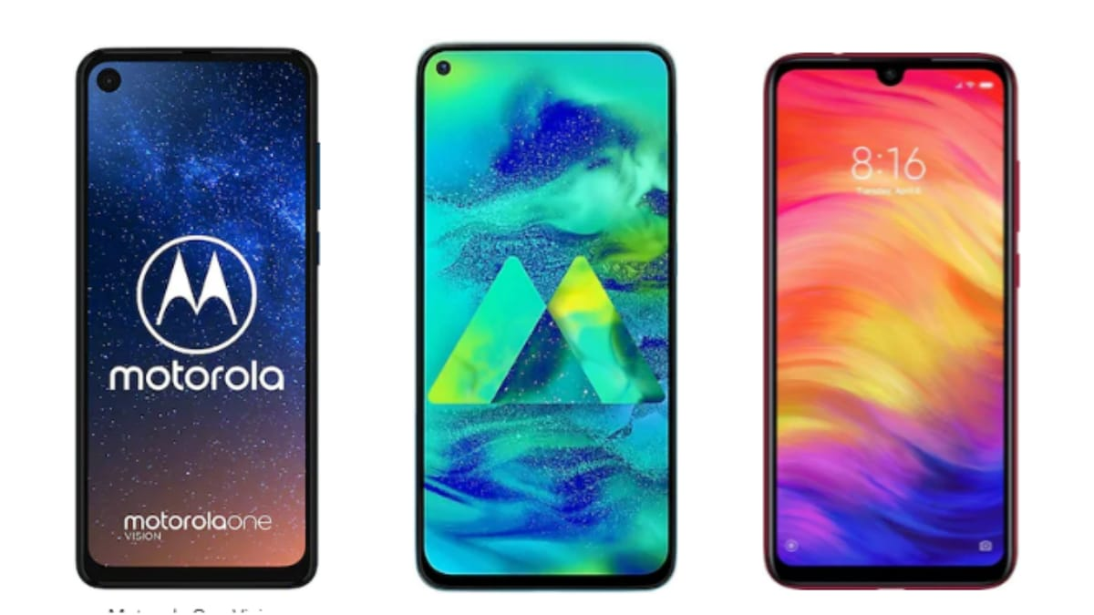 Motorola One Vision vs Redmi Note 7 Pro vs Samsung Galaxy M40: Price in India, Specifications Compared