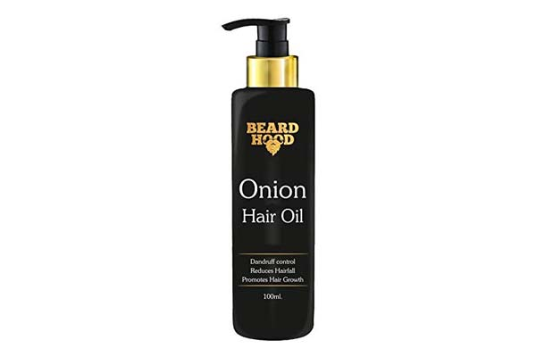 Best Onion Oils for Hair Growth - Beardhood Onion Hair Oil for Hair Growth and Hair Fall Treatment with Red Onion Extract, Bhringraj & Argan Oil, 100ml
