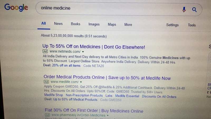 Relief for Online Pharmacies as Madras High Court Stays Ban