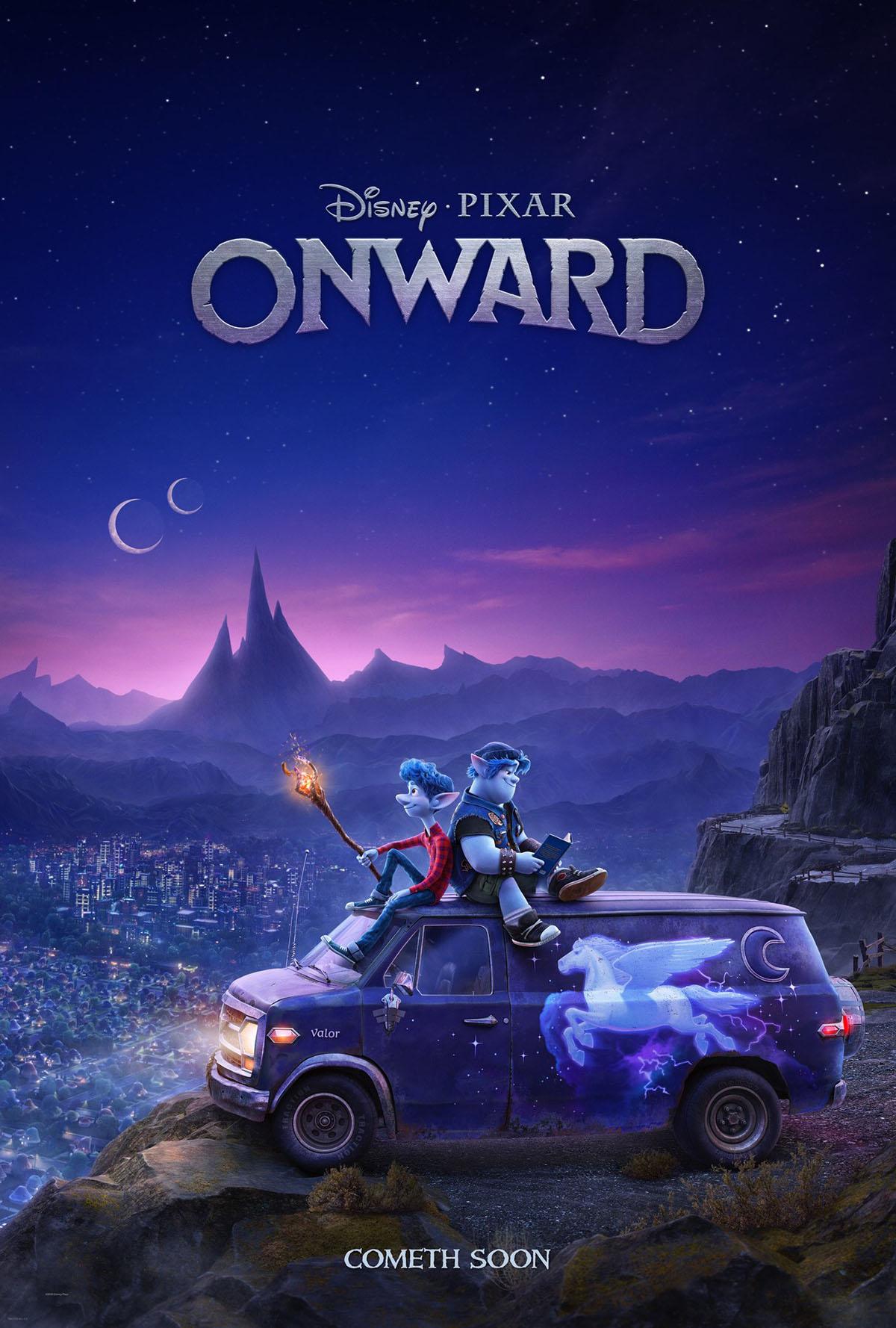 onward poster s Onward Pixar poster
