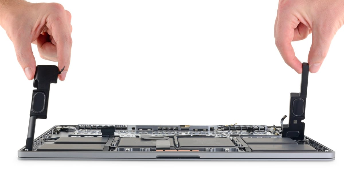 16-Inch MacBook Pro Features Improved Cooling System, Bigger Battery, Magic Keyboard: iFixit Teardown