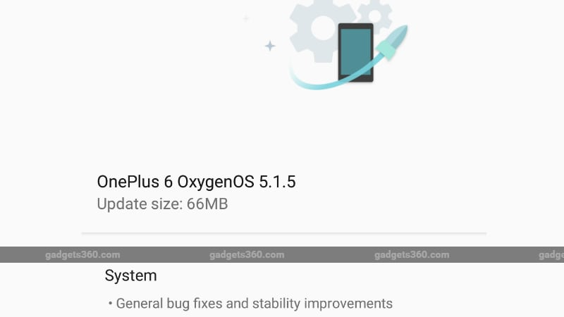 OnePlus 6 Starts Receiving OxygenOS 5.1.5 Update, Includes Bug Fixes