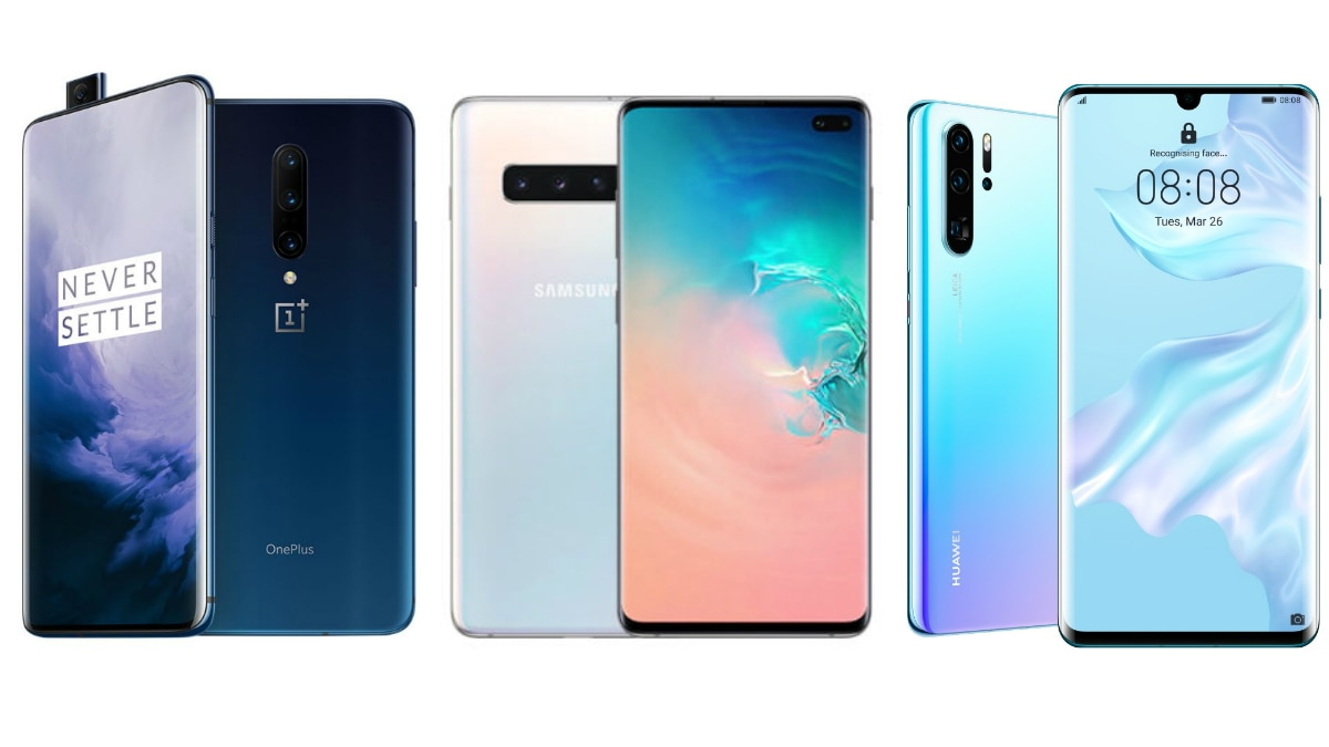 OnePlus 7 Pro vs Samsung Galaxy S10+ vs Huawei P30 Pro: Price in