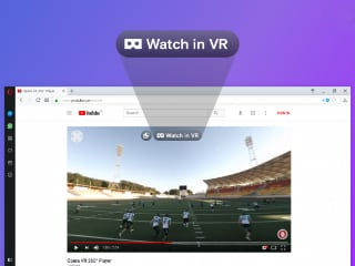 Opera Browser Gets 360-Degree Videos Support for VR Headsets