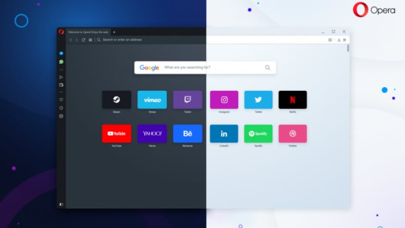Opera 60 'Reborn 3' Browser for Desktop Brings Dark Theme, Web 3 Support, Crypto Wallet