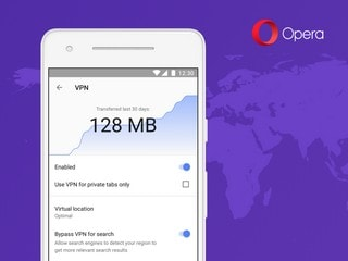 Opera Launches Free VPN in Beta Browser for Android; Offers Log-Free, Unlimited Service
