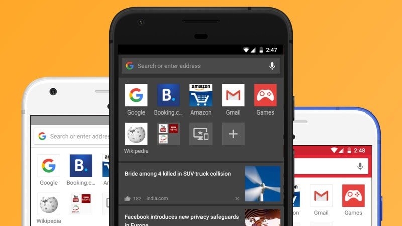 Opera for Android 46 Debuts With Themes, Night Mode, QR Code Scanner, and More