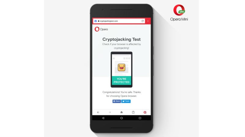 Opera Introduces Anti-Cryptocurrency Mining Protection for Smartphones