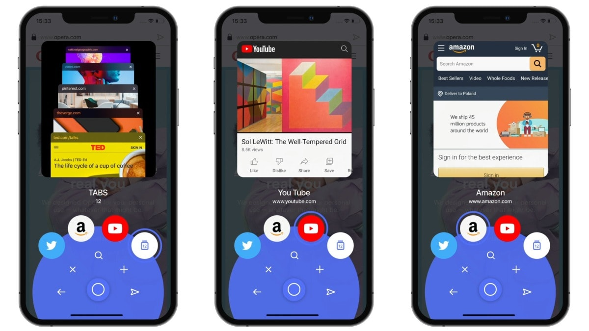 Opera Touch for iOS Gets Rebranded to Just 'Opera' on Its 3rd Anniversary, Revamps UI