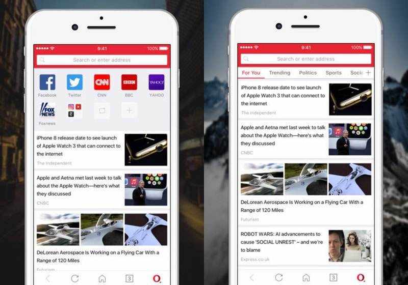 Opera Mini for iOS Gets AI-Powered News Feed in India, Select Other Countries