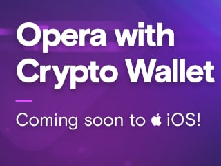 Opera Touch to Get Crypto Wallet Integration on iOS Soon