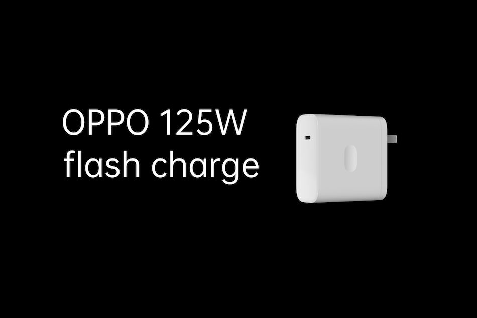 Oppo 125W Flash Charge Fast Charging Tech Unveiled, Can Charge a 4,000mAh Battery in 20 Minutes