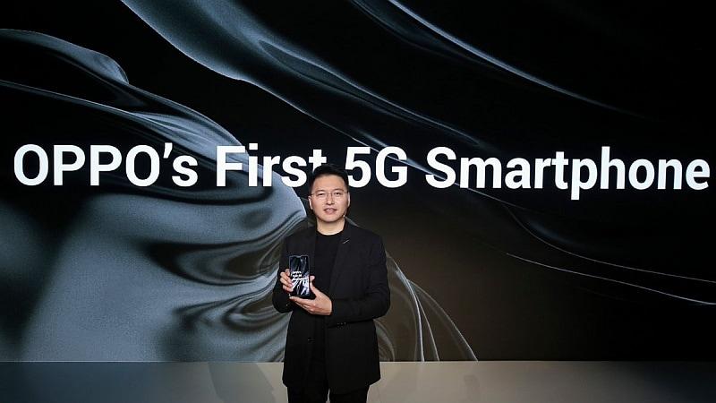 oppo 5g smartphone anyi jiang